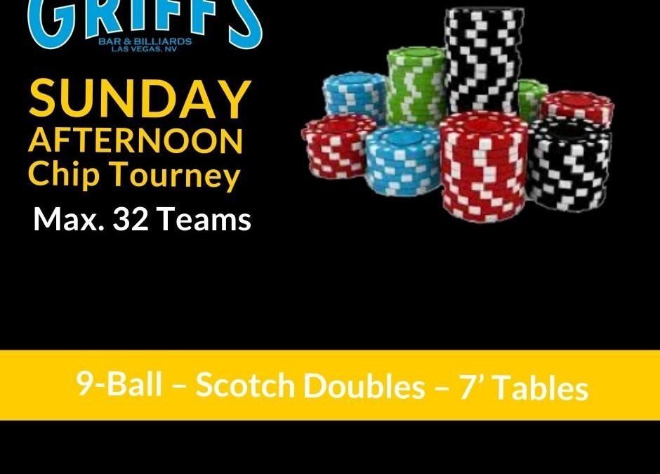Sunday Afternoon Chip Tournament (Scotch Doubles)
